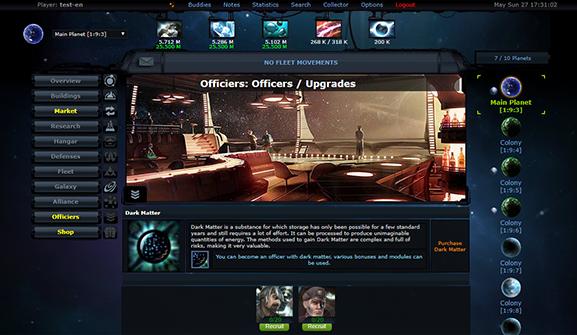OGamer - Online Browser Space Strategy Game - OGame